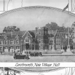 This is a 1920s illustration of Larchmont Village Hall
