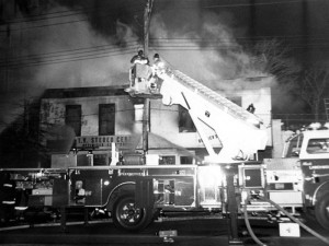 A fire from the 1960s on Larchmont Avenue
